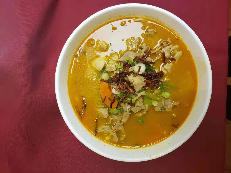 54. Curry Chicken Soup (Ca Ri Ga)