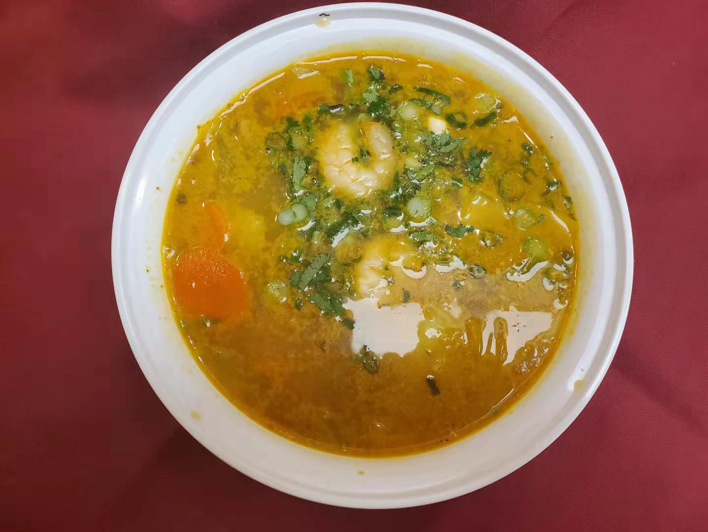 56. Curry Shrimp Soup (Ca Ri Tom)